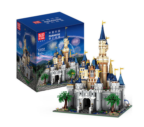 "Vitrinenset ""Paradise Castle"", 8388 Teile, Mould King, 13132"