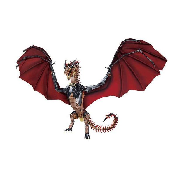 "Bausatz ""Fire Dragon"" aus der Flying Dragon Serie von 18K Super, 1889 Teile, K89"